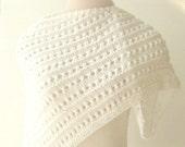 Lace Shawl, Wedding Wrap, Bride, Bridesmaids, White Wedding