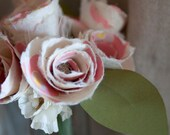 Country Living Paper Rose Bouquet