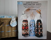 CLEARANCE SALE 50% OFF Easy to Make Patchwork Skirts Book Uncut 12 Skirts and 2 Aprons