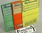 LiST MAKER LiBRARY POCKETS-  Sentence Builder Cardstock