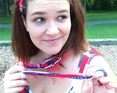 Crocheted Hippie Headband