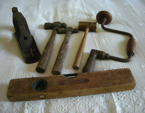 Vintage Hand Tools - Instant Collection of 6