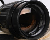 Jupiter 21M 4 / 200mm M42 Telephoto Sport Lens in CASE with Caps EXCellent Condition