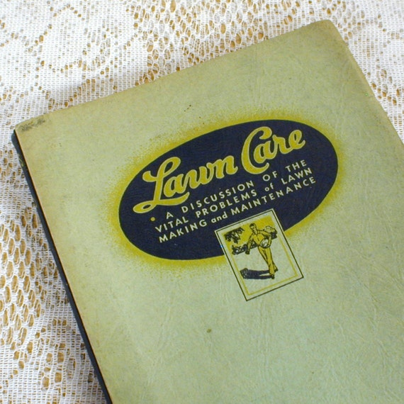 Lawn Care by Scotts Instructional Newsletters 1920s - 30s