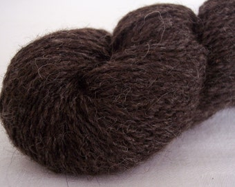 icelandic bay black 2 ply sport yarn