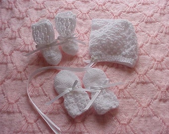Lacy Hat Set Pattern