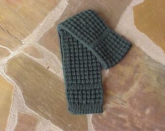Textured Rib Scarf Pattern