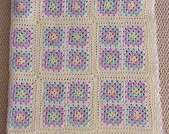 A Classic American Baby Blanket Pattern