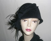 Black Cloche', inspired from the 1920's