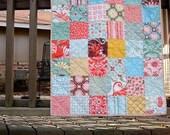 Fandango Patchwork baby quilt