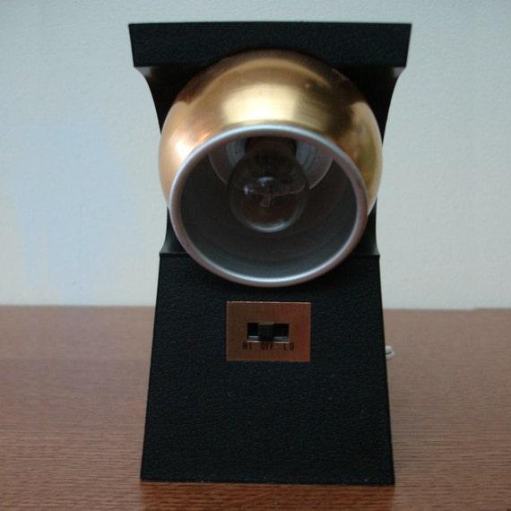 Vintage Mod Eyeball Compact Desk Lamp 1970s