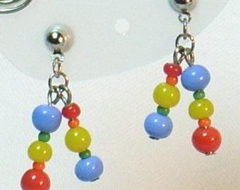 Rainbow Drops Earrings