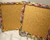 Crayon Cork Board