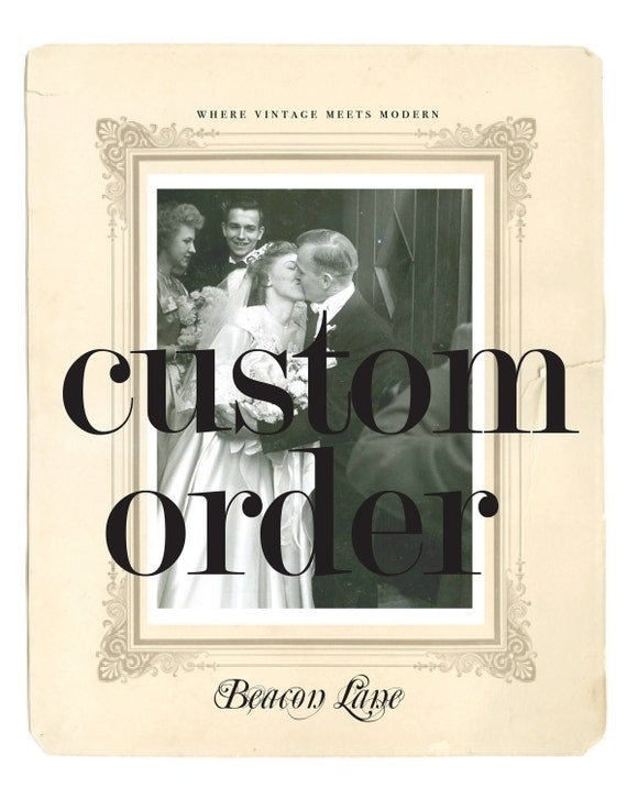 Custom Wedding Invitations, Save the Dates, Wedding Menu Cards, Signs, Ceremony Programs - Design From Scratch By Beacon Lane