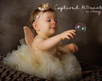 Heavenly Angel Tutu, Newborn Tutu, Baby Tutu, Tutus for children, Flower Girl tutu, 1st birthday tutus, birthday tutu, mommy and me tutus