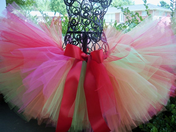 """Tutus """"Fruit Cocktail""""  Great for Birthdays, Photography Prop, and Dance"""