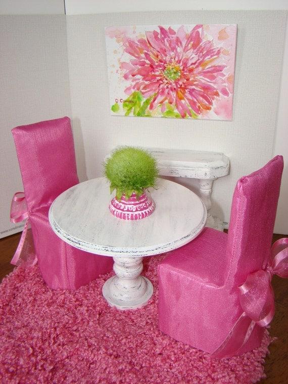 barbie dining room set | RESERVED for Mamushouse Barbie Furniture Dining Room Set