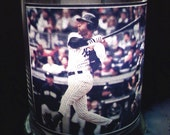 Derek Jeter Glass Candle Holder by Collectible Candles