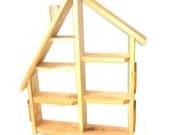 THE TOWNHOUSE - handmade shadowbox small treasures shelf