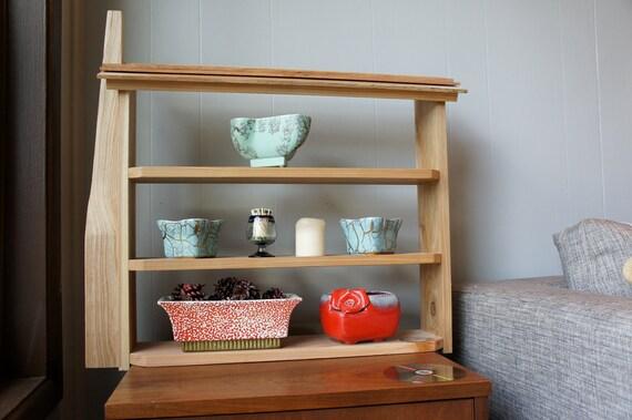 THE HOMESTEAD - handmade shadowbox shelf