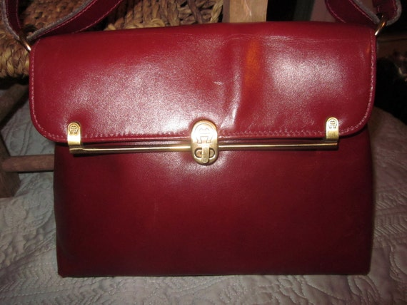 vintage aigner purse,handbag,lovely,leather , gorgeous purse