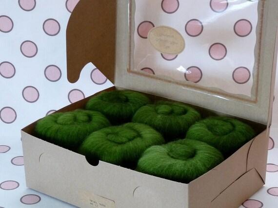 Spinning Fiber Batts - Cupcake Fiber SW BFL/Nylon Sock Fiber Batts - 6 ounces  - Arbor