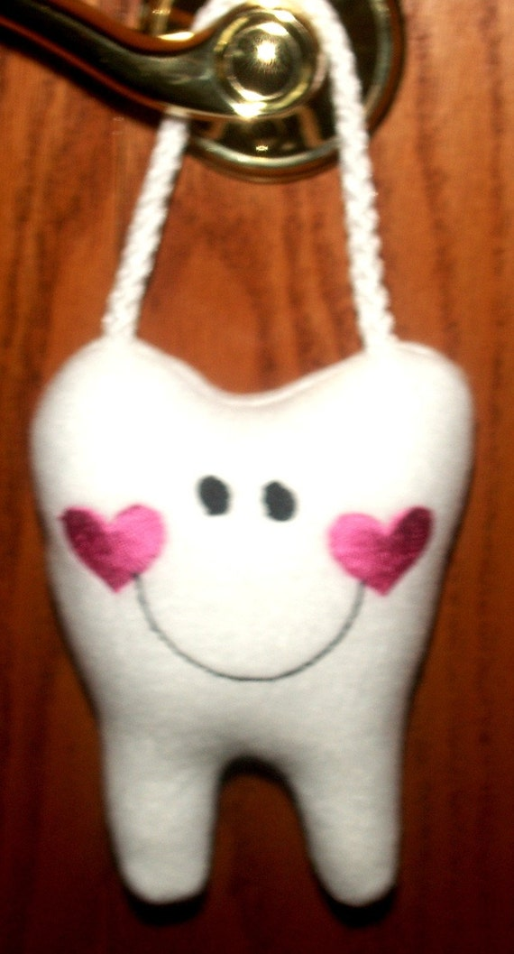 Tooth Fairy Pillow with hanger,Personalized for Boys and Girls