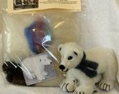 Needle Felt Polar Bear Kit