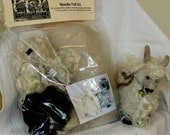 Needle Felt Kit Angora Goat