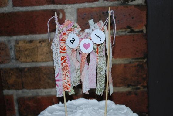 Bridal Shower Cake Topper, Wedding Cake Topper