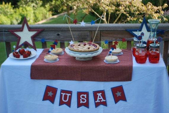 Memorial Day Party Decorations, Memorial Day, Fourth of July Party Decorations,Fourth of July