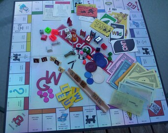 Game Pieces.  Variety of Board Game Pieces.  Scrapbooking and Art Project Board Game Pieces.  Y-184