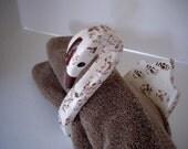 Vintage Swan Towel Valet Handmade 1959