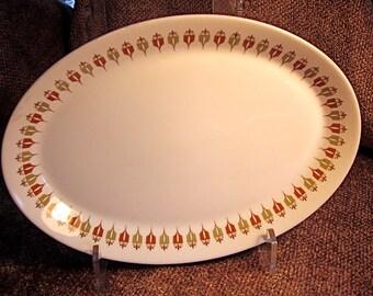 Syralite Serving Platter mid century modern