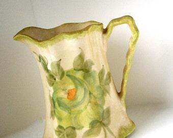 Cash Pottery Porcelain Cream Pitcher Vintage 1970s