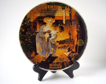 Vintage Norman Rockwell Plate 1979 Papers