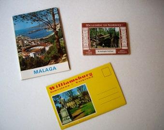 Vintage Post Card  Norway / Williamsburg / Malaga 1960