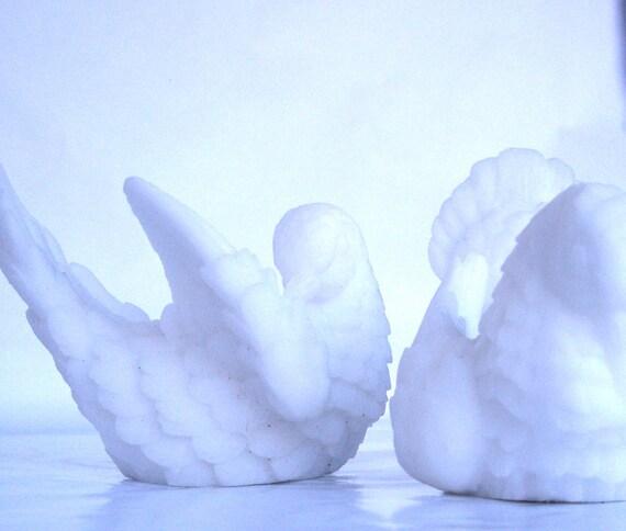 Alabaster White Doves Italy