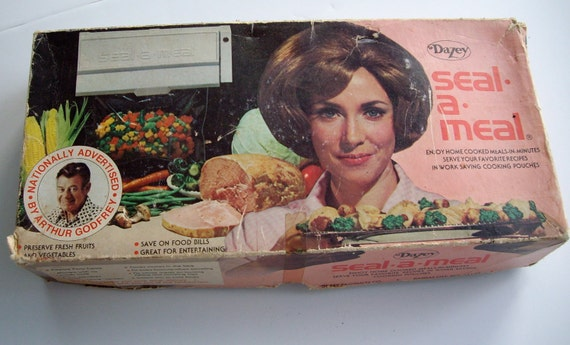 Vintage Retro Kitchen Seal A Meal Dazey  NOS