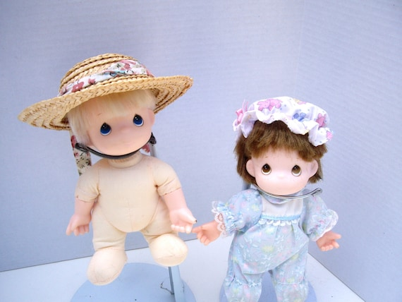 Vintage Detrash Precious Moments Cuties Dolls