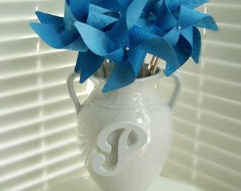SEASIDE BLUE set of 8 Large Gourmet Pinwheels