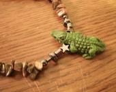 Alligator Anklet 10 1/2