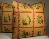Shabby Chic Pillows- set of two pillows