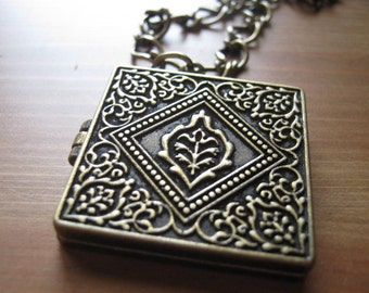 Necklace with a Locket