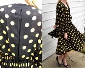 Poka-Dot Norma Walters for Neiman-Marcus Party Dress