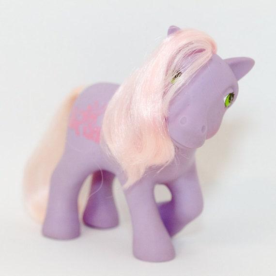 "Vintage My Little Pony: 1984 Happy Tails ""Romper"" (NEAR MINT)"