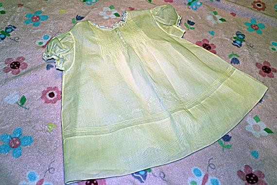 Vintage Handmade Baby Dress