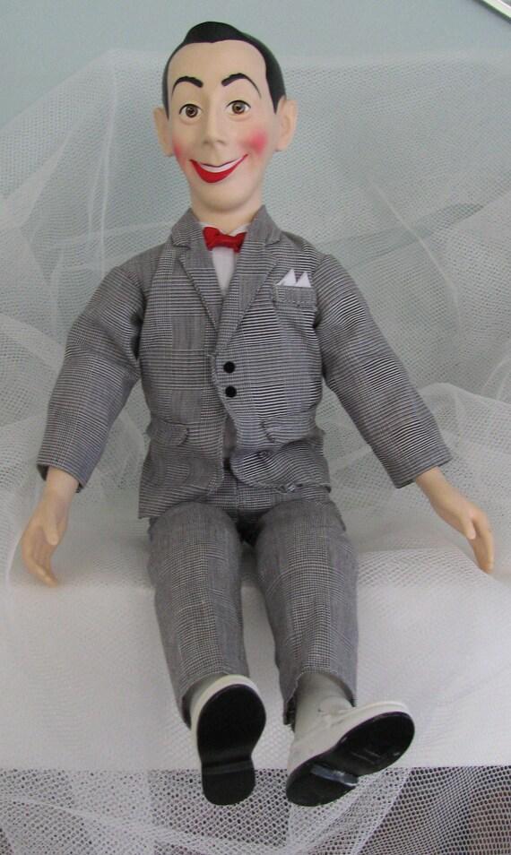 On Sale Vintage Pee Wee Herman  Talking Doll