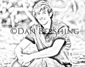 Your Photograph to Black and White Sketch