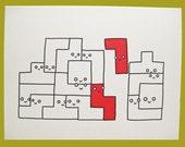 Tetris Card